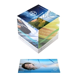 Pop Up Cube Business Greeting Cards