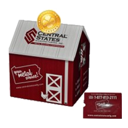 Pop Up Cube Coin Bank Direct Mailers
