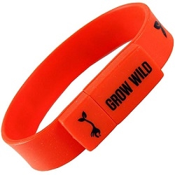 USB Novelty Lizzard Wristband